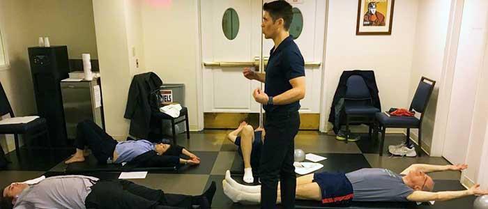 Chiropractor San Francisco CA Dr. Nick Cruze Corporate Wellness